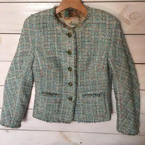 Escada | Luxury Tweed Bouccle Jacket 36
